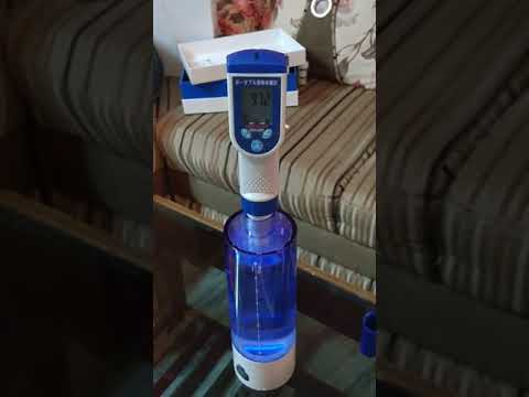 Blue water 900 hydrogen rich portable water ionizer healthy water equal to kangen water india