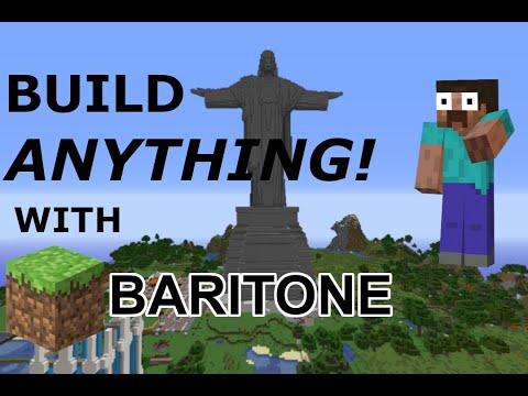 BARITONE TUTORIAL - Build With AI In Minecraft!