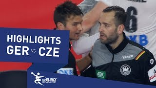 Highlights | Germany vs Czech Republic | Men's EHF EURO 2018