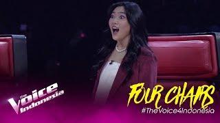 Keren sih! Kontestan Ini Menyanyikan Lagu Milik Isyana!   Four Chairs   The Voice Indonesia GTV 2019