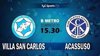 Villa San Carlos vs Acassuso full match