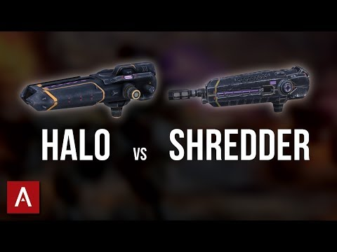 Halo vs Shredder - Which is the BEST LOCK DOWN WEAPON? | War Robots Best Weapons 2018