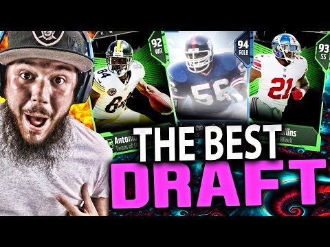 THE BEST DRAFT ON YOUTUBE!!! MADDEN 18 DRAFT CHAMPIONS GAMEPLAY