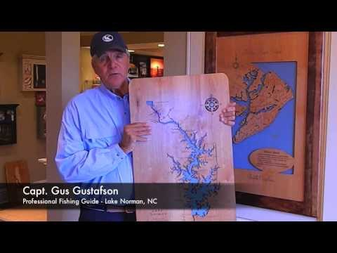 Capt. Gus for Wood Lake Maps