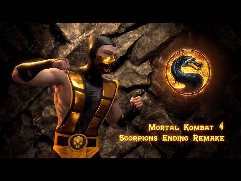Mortal Kombat 4 - Scorpions Ending Remade In Unreal Engine 4