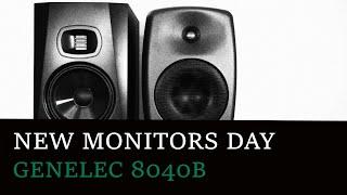 New Monitors Day: Genelec 8040…