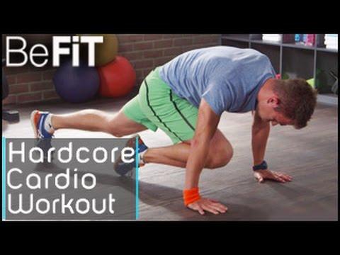Hardcore Cardio Fat Burn Workout: Nonstop Legs- Chris Tye Walker