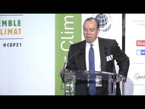 Caring for Climate Business Forum COP21 - Mr. Stuart Thomson Gulliver, Group Chief Executive of HSBC