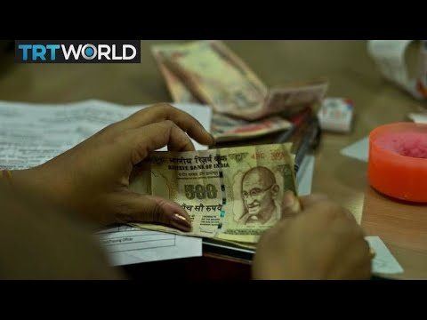 India central bank is printing new banknotes amid cash ...