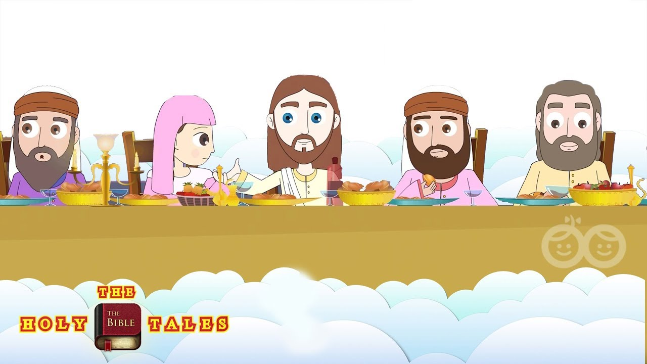 The Last Supper I Stories of Jesus I Animated Children's Bible Stories|  Holy Tales Bible Stories