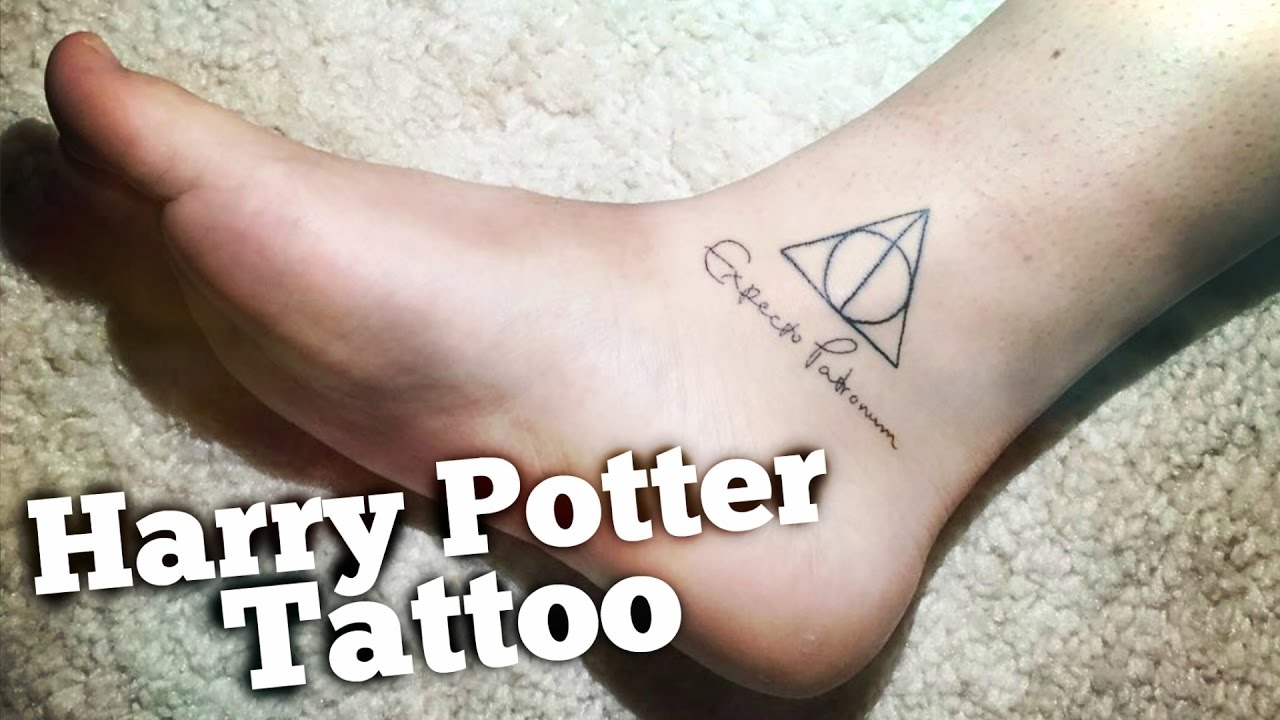 Mi Primer Tatuaje Harry Potter Tattoo Vlog Juanfco360hd Youtube