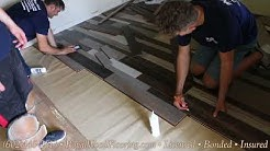 Engineered wood flooring installation  Phoenix Arizona