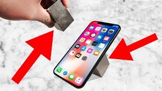 Insane 1200 lb Neodymium Magnets vs iPhone X! Can It Survive? thumbnail