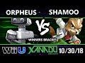 S@X 274 Smash 4 -  Orpheus (Rob) Vs.  Shamoo (Fox) - Wii U Winners Bracket