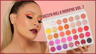 Testing Out The Jaclyn Hill Morphe Volume 2 Palette