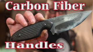 Fixed Blades  & Carbon Fiber Handles - Knife vlog 13