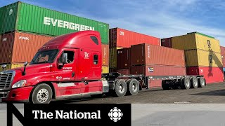 Import surge straining Canada's supply chain