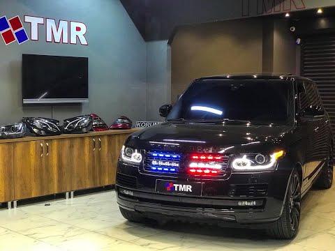 TMR Elektronik Range Rover Vogue Profesyonel Siren Ve Çakar Sistemi