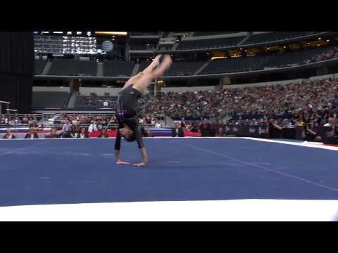 Jessica Lopez - Floor Exercise - 2015 AT&T American Cup - NBC