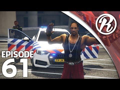 [GTA5] NEDERLANDSE POLITIE VS SNOOP DOGG!! - Royalistiq | Politie en boefje #61