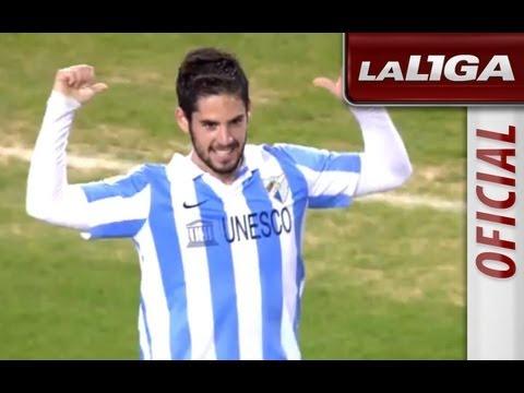La Liga | Málaga CF - Valencia CF (4-0) | 24-11-2012 | J13 | Resumen
