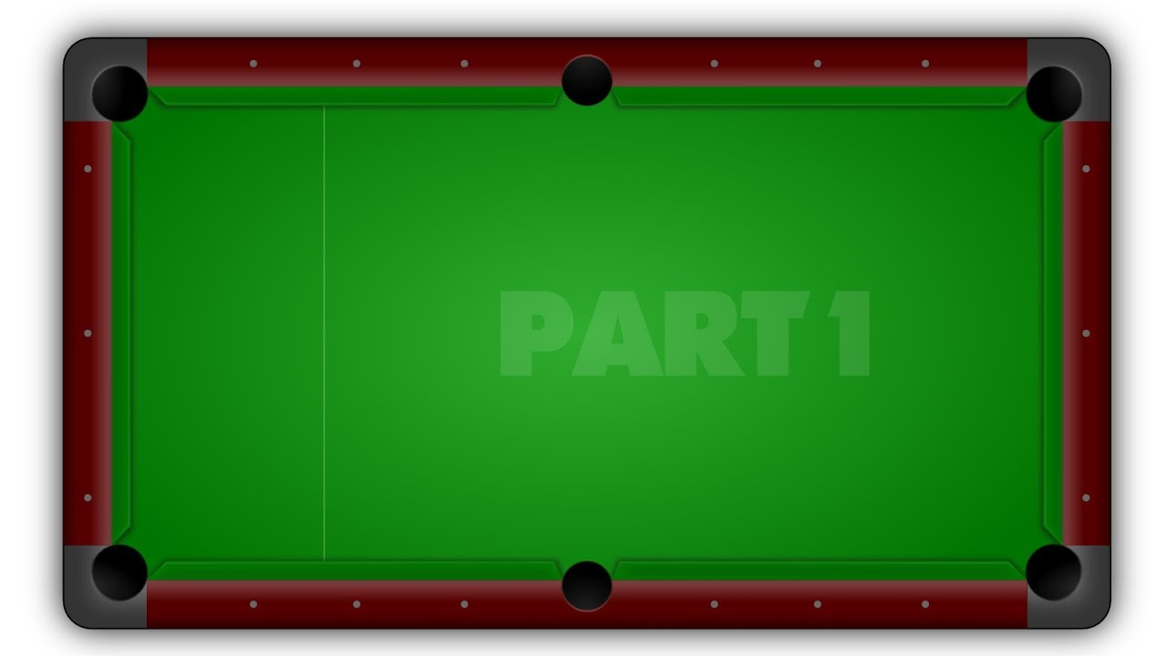 how to make snooker table
