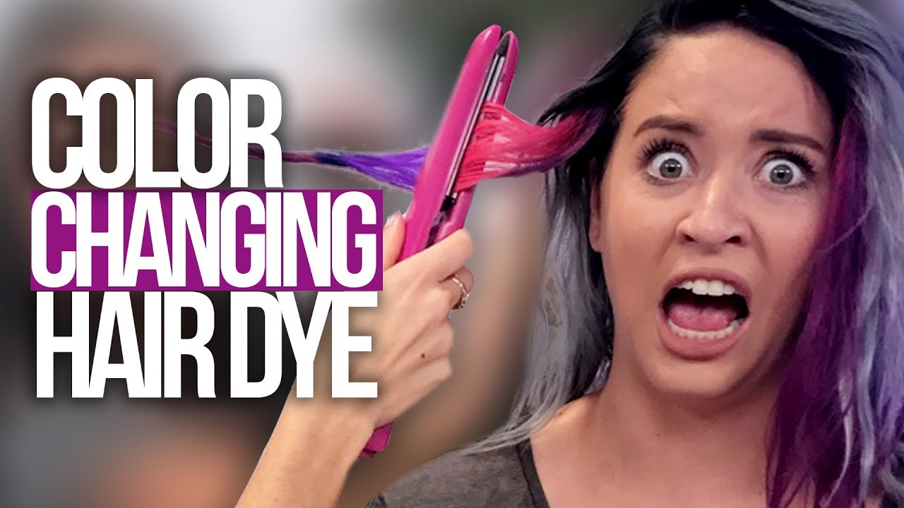 Magic Color Changing Hair Dye?! (Beauty Break)