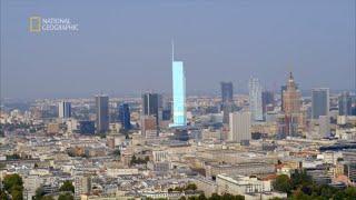 Zobacz budowę wieżowca, który odmieni krajobraz Warszawy [Europa z powietrza]
