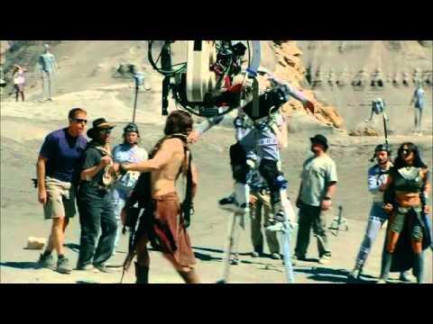 Видео со съемок Джон Картер с Марса