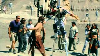 "Видео со съемок ""Джон Картер с Марса"""