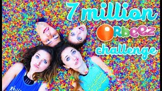 7 MiLLiON ORBEEZ iN OUR SPA | Toy Scavenger Hunt Challenge with KamriNoel thumbnail