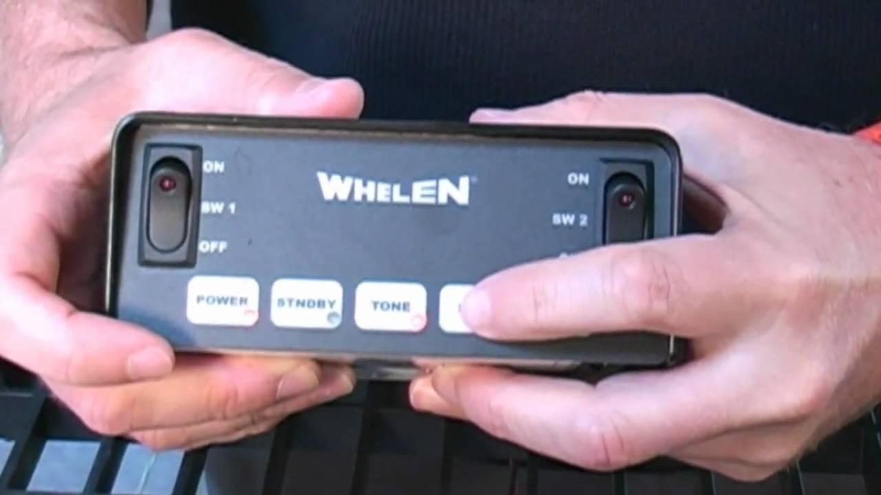 maxresdefault whelen gamma2 self contained siren youtube whelen siren speaker wiring diagram at mifinder.co