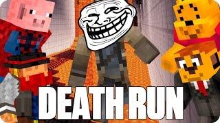 ¡A TROLLEAR SIN PARAR! DEATHRUN   Minecraft Con Sara, Luh, Exo Y Macundra