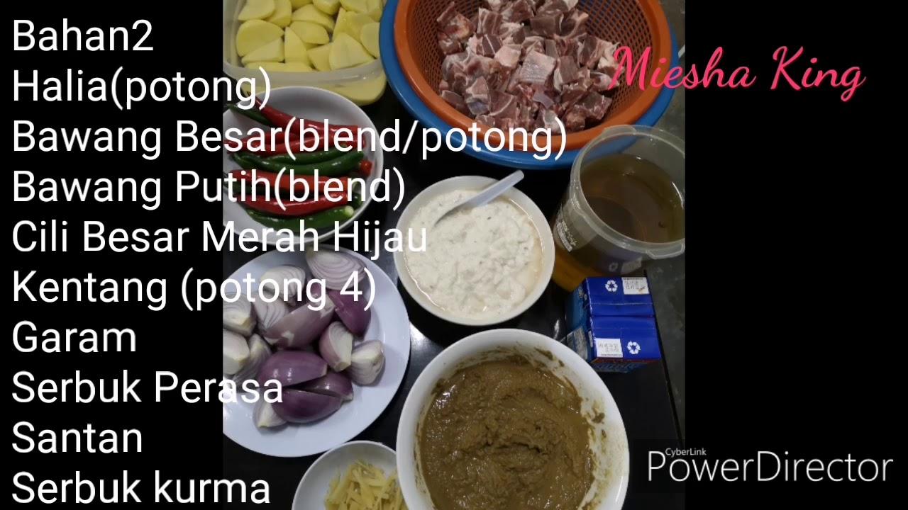 Resepi Kurma Kambing Noxxa Sedap Youtube
