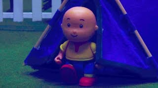 🏕 Caillou the Camper 🏕 | Funny Animated Kids show | Caillou Stop Motion