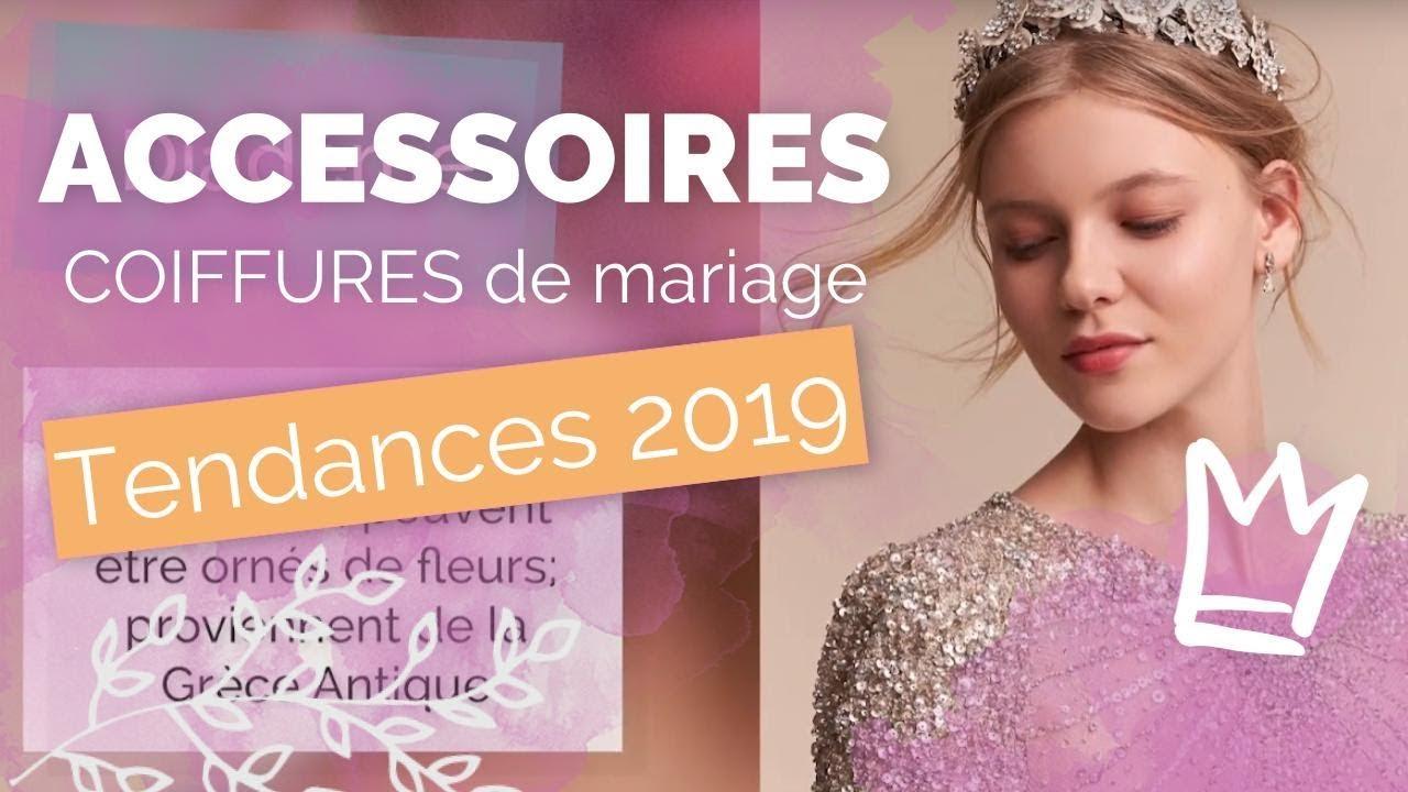 Accessoires Cheveux Pour Mariage Les Coiffures Tendances 2019