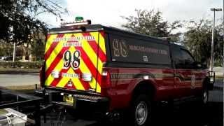 HG2 Emergency Lighting | City of Margate Fire Department | Ford F350 | Runner Lighting Package