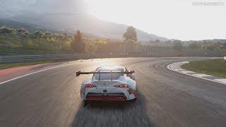 Gran Turismo Sport - Toyota GR Supra Racing Concept 2018 Gameplay [PS4 Pro]