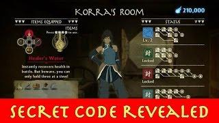 The Legend of Korra Secret Code