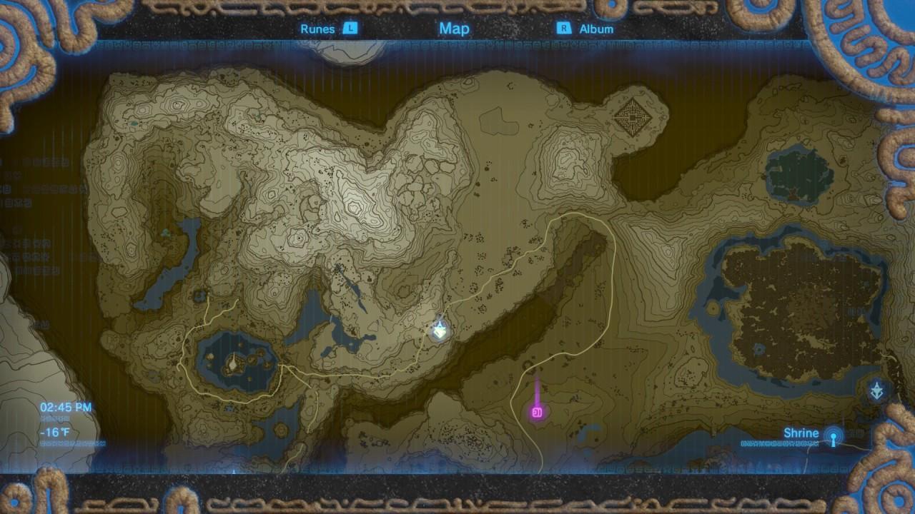 Breath of the Wild   Full Map Unlocked   YouTube