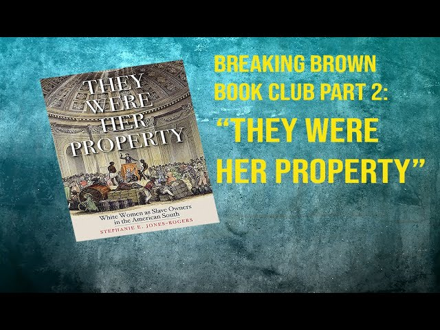 BOOK CLUB: THEY WERE HER PROPERTY pt. 2