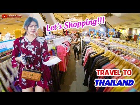 DU LỊCH THÁI LAN GIÁ RẺ TỰ TÚC ▶ Đi đường bộ qua Udon Thani mua sắm!