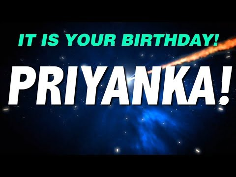 HAPPY BIRTHDAY PRIYANKA! This Is Your Gift.