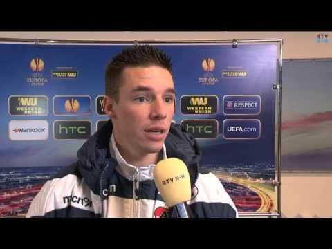 Nick Viergever over de wedstrijd tegen Shakter Karagandy