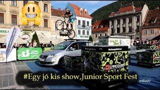 Egy jó kis show,Junior Sport Fest #vlog200