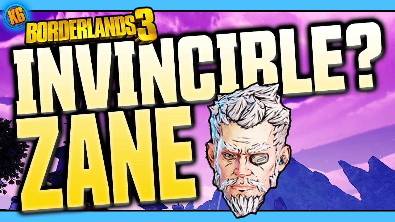 INVINCIBLE ZANE BUILD! - Well, mostly Invincible [Borderlands 3] thumbnail