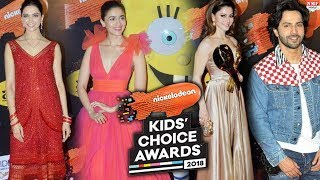 LIVE : Nickelodeon Kids Choice Awards 2018 | Alia Bhatt | Deepika | Sonakshi