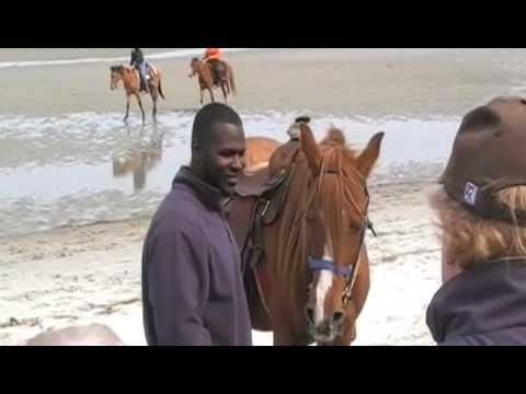 2009 Marsh Tacky races on Mitchelville Beach, Hilton Head Island, South Carolina
