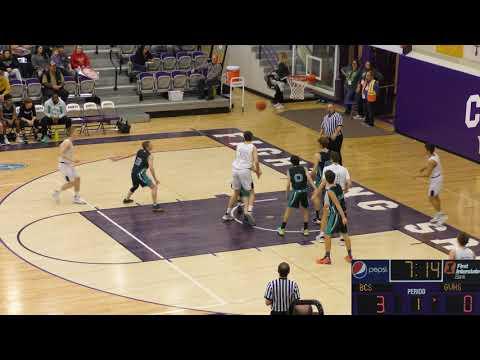 Boys | MCAA Tournament 2020 | Gallatin Valley Cougars vs Billings Christian School | 01/22/2020