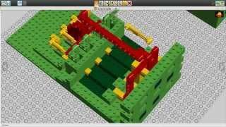 [Лего идея #4] Как сделать сейф из Лего с кнопочным кодовым замком?